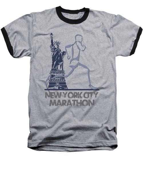 New York City Marathon3 Baseball T-Shirt