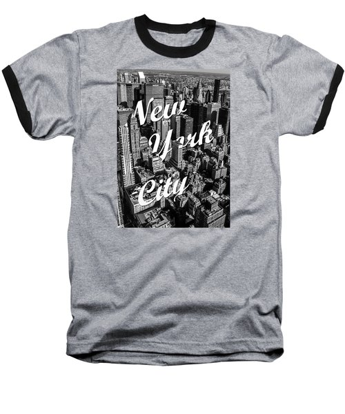 New York City Baseball T-Shirt by Nicklas Gustafsson