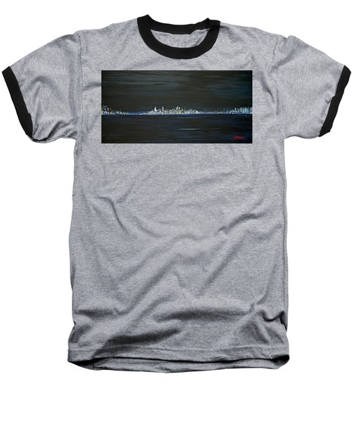 New York City Nights Baseball T-Shirt