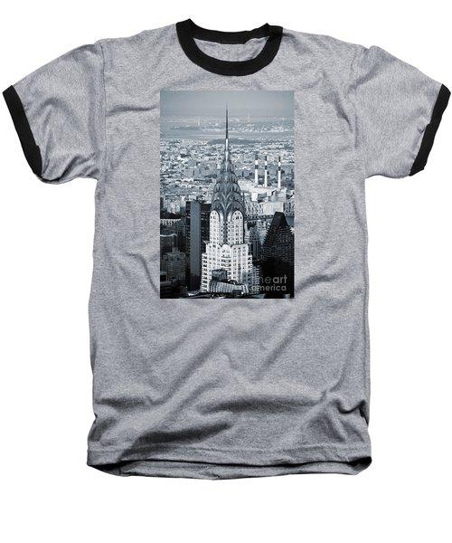 New York City - Usa - Chrysler Building Baseball T-Shirt