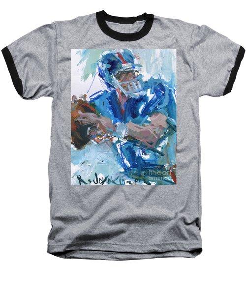 New York Giants Artwork Baseball T-Shirt by Robert Joyner