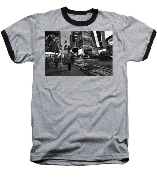 Baseball T-Shirt featuring the photograph New York, New York 1 by Ron Cline