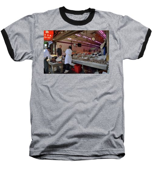 Baseball T-Shirt featuring the photograph New York, New York 17 by Ron Cline