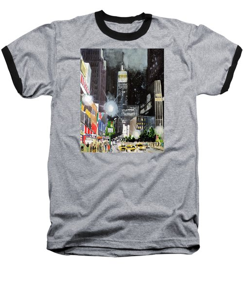 New York Night Baseball T-Shirt