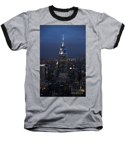 New York State Of Mind Baseball T-Shirt