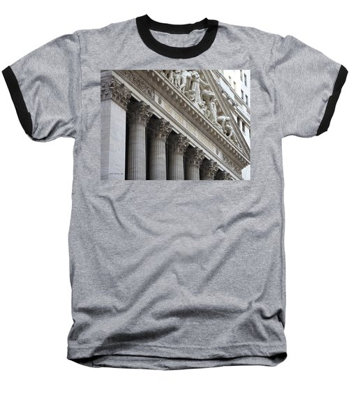 New York Stock Exchange Baseball T-Shirt