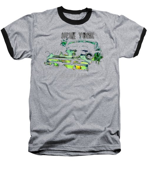 New York Streets Baseball T-Shirt
