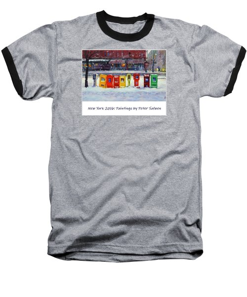 New York Streetscapes 2016 Baseball T-Shirt