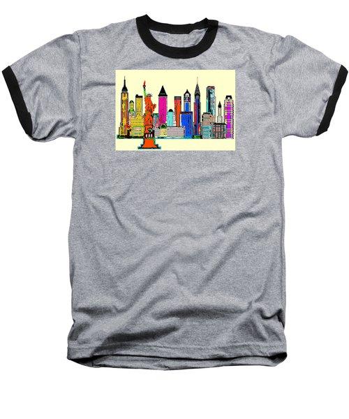 New York - The Big City Baseball T-Shirt