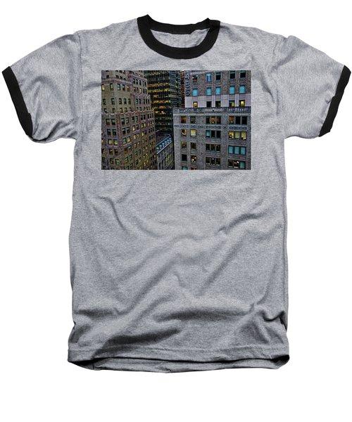 New York Windows Baseball T-Shirt by Joan Reese