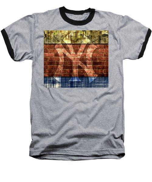 New York Yankees Brick 2 Baseball T-Shirt