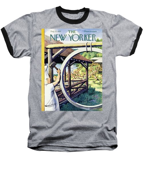 New Yorker August 22 1953 Baseball T-Shirt