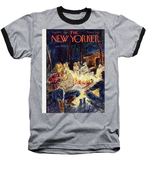 New Yorker August 3 1957 Baseball T-Shirt