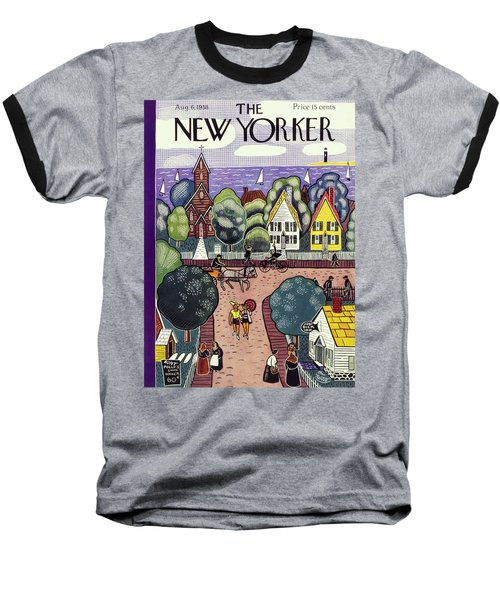 New Yorker August 6th, 1938 Baseball T-Shirt