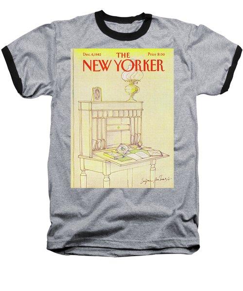 New Yorker Cover December 6th 1982 Baseball T-Shirt