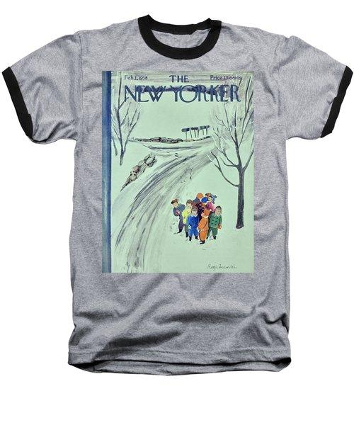 New Yorker February 1 1958 Baseball T-Shirt