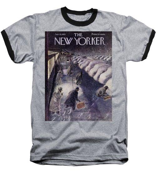 New Yorker January 19 1952 Baseball T-Shirt