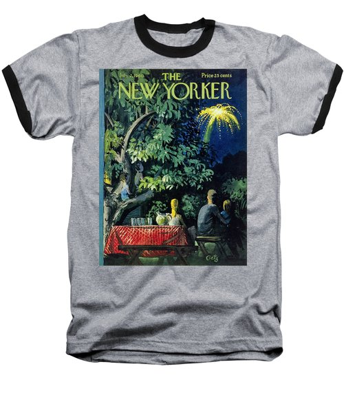New Yorker July 2 1960 Baseball T-Shirt