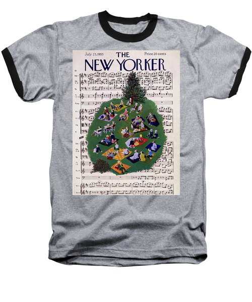 New Yorker July 23 1955 Baseball T-Shirt
