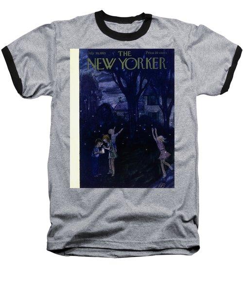 New Yorker July 30 1955 Baseball T-Shirt