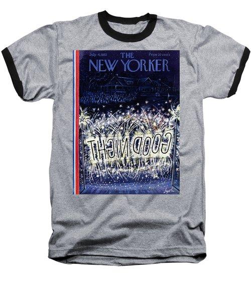 New Yorker July 4 1953 Baseball T-Shirt
