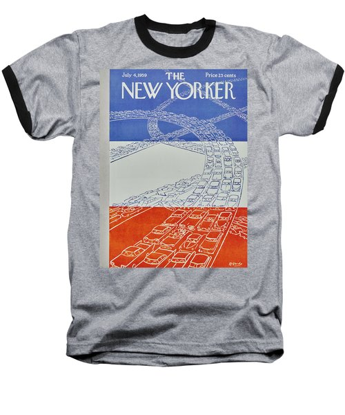 New Yorker July 4 1959 Baseball T-Shirt