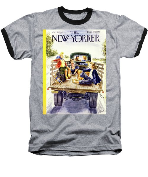 New Yorker July 8 1950 Baseball T-Shirt