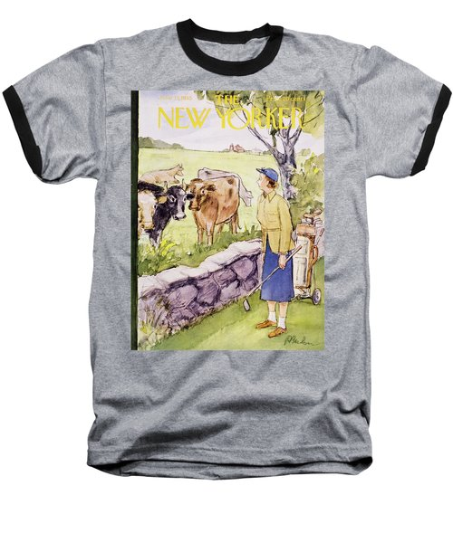 New Yorker June 11 1955 Baseball T-Shirt