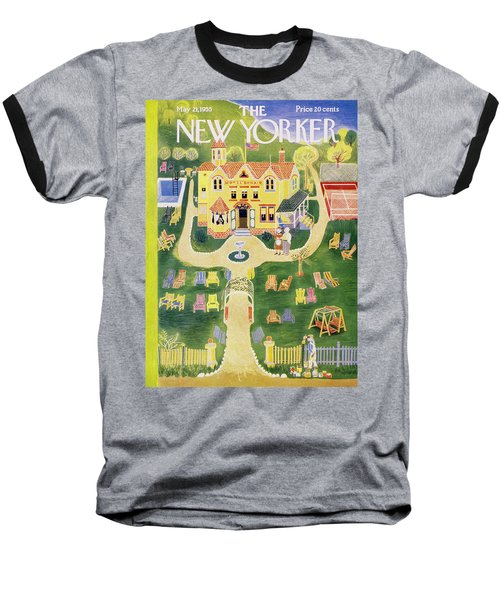 New Yorker May 21 1955 Baseball T-Shirt