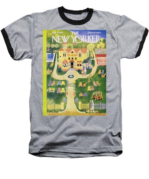 New Yorker May 21 1955 Baseball T-Shirt