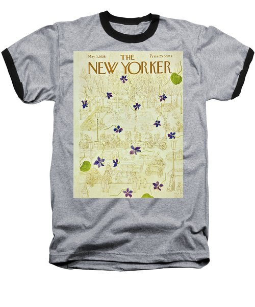 New Yorker May 3 1958 Baseball T-Shirt