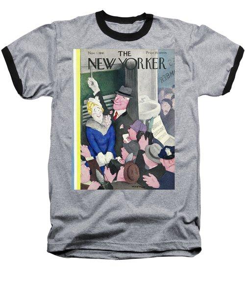New Yorker November 1 1941 Baseball T-Shirt