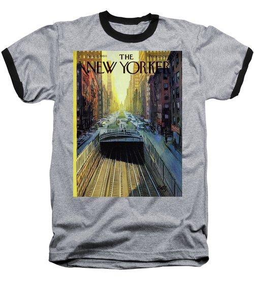New Yorker November 12 1960 Baseball T-Shirt