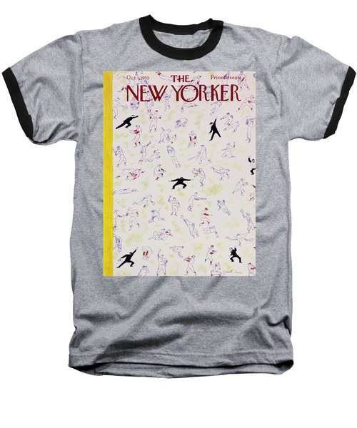 New Yorker October 1 1955 Baseball T-Shirt
