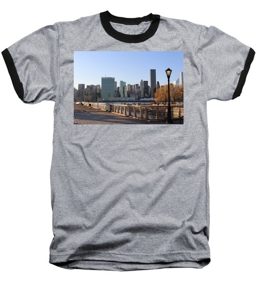 New York's Skyline - A View From Gantry Plaza State Park Baseball T-Shirt