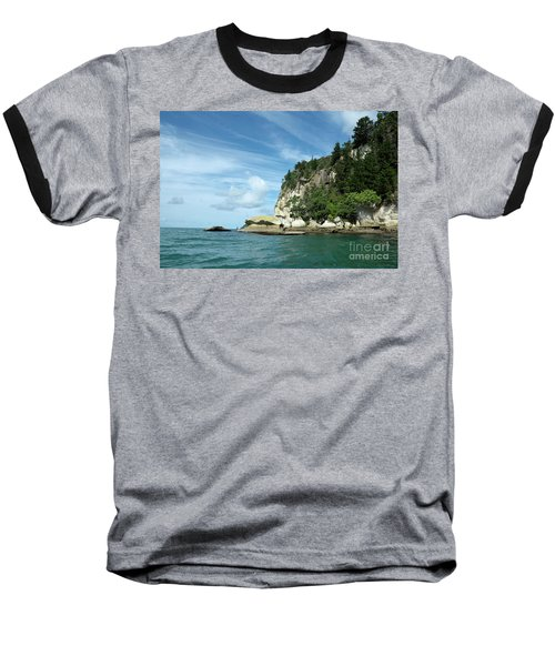 Baseball T-Shirt featuring the photograph New Zealand Beauties by Yurix Sardinelly