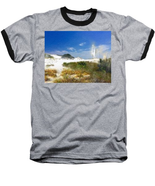 New Zealand Toi Toi Coastal Grasses Baseball T-Shirt