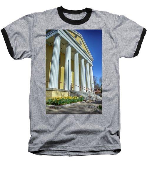 Newburgh Courthouse On Grand Street 2 Baseball T-Shirt