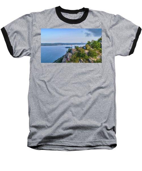 Newburgh From Breakneck Ridge Baseball T-Shirt