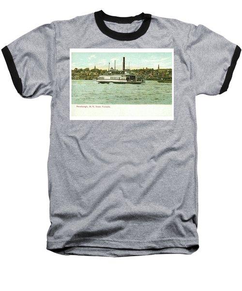 Newburgh Steamers Ferrys And River - 24 Baseball T-Shirt