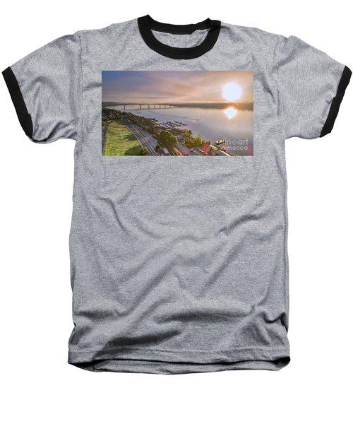 Newburgh Waterfront At Sunrise 3 Baseball T-Shirt