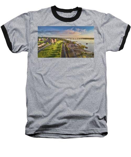 Newburgh Waterfront Looking North Baseball T-Shirt