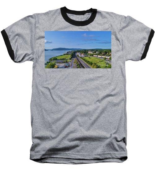 Newburgh Waterfront Looking South 4 Baseball T-Shirt