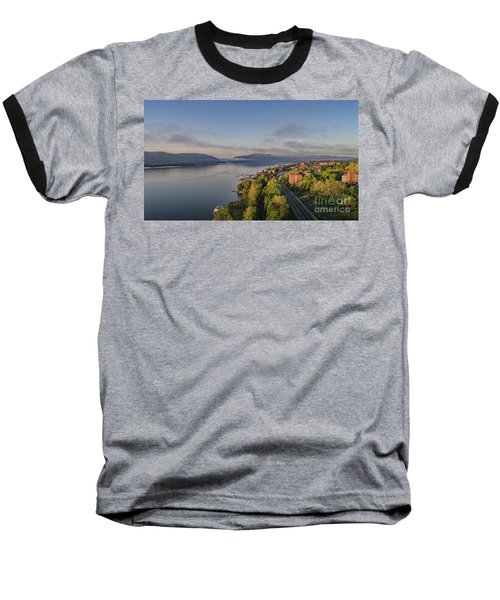 Newburgh Waterfront Looking South Baseball T-Shirt