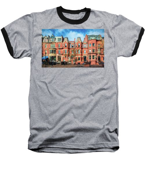 Newbury Street In Boston Baseball T-Shirt
