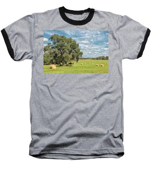 Newly Baled Hay Baseball T-Shirt