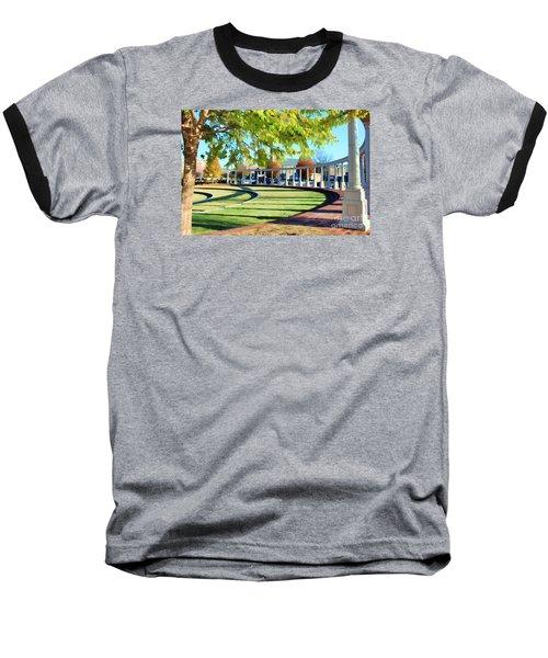 Baseball T-Shirt featuring the photograph Newnan Park Ampitheatre by Roberta Byram