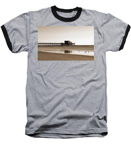 Baseball T-Shirt featuring the photograph Newport Beach Pier by Everette McMahan jr