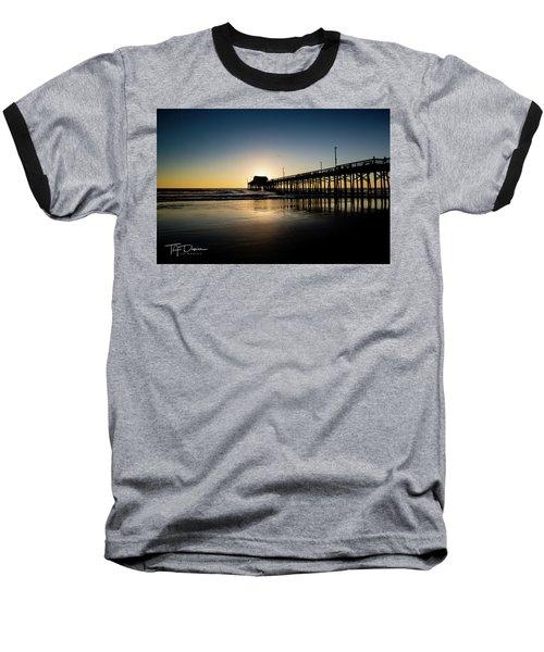 Newport Pier Baseball T-Shirt