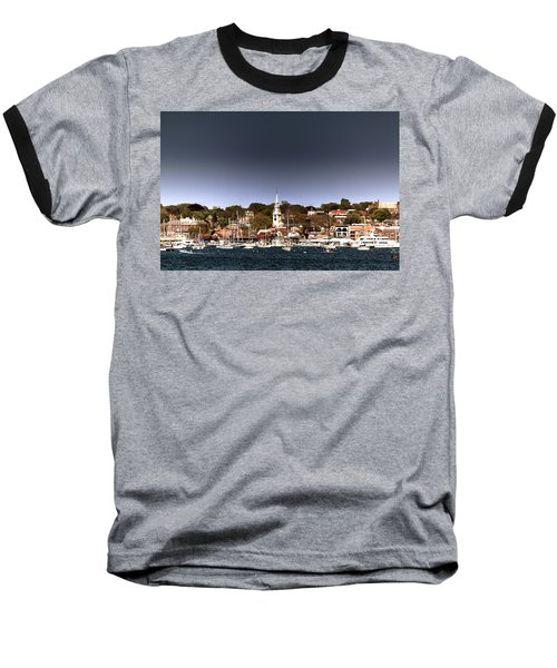 Baseball T-Shirt featuring the photograph Newport by Tom Prendergast